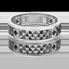 Кольцо из белого золота с фианитом 01-4711-00-402-1120-22