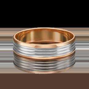 Обручальное кольцо из комбинированного золота 01-5417-00-000-1111-39