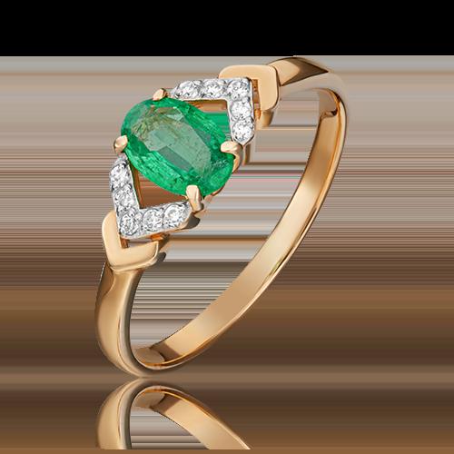 Кольцо из красного золота 01-1291-00-106-1110-30