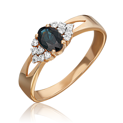 Кольцо из красного золота 01-1293-00-105-1110-30