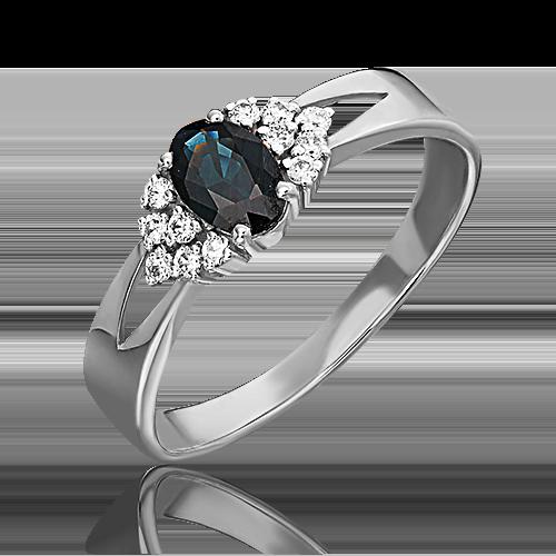 Кольцо из белого золота 01-1294-00-105-1120-30