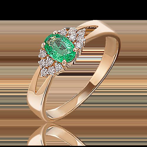 Кольцо из красного золота 01-1293-00-106-1110-30