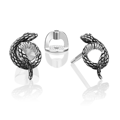 Серьги-пусеты из серебра 02-4663-00-000-0200-68