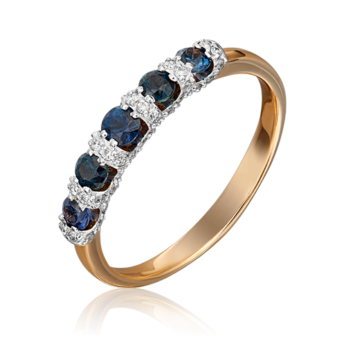 Кольцо из красного золота 01-0001-00-105-1110-30