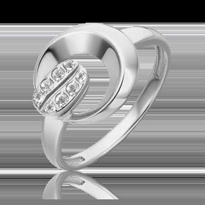 Кольцо из белого золота с топазом white 01-5565-00-201-1120