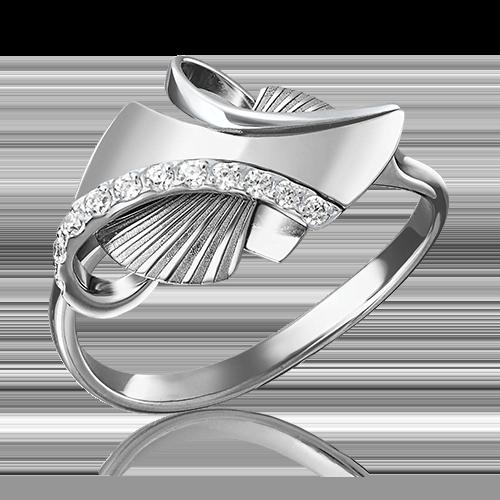 Кольцо из белого золота 01-5095-00-401-1120-48
