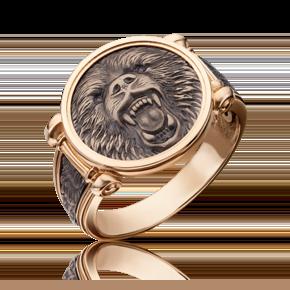 Печатка из комбинированного золота 01-5300-00-000-1111-42