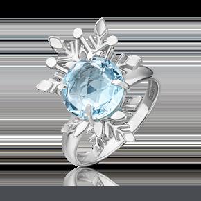 Кольцо из серебра с топазом 01-5471-00-201-0200-69