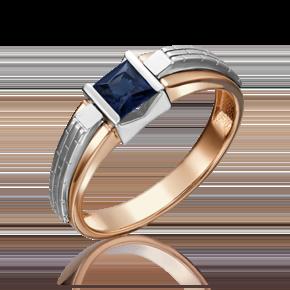 Печатка из комбинированного золота с сапфиром 01-5182-00-102-1111-30
