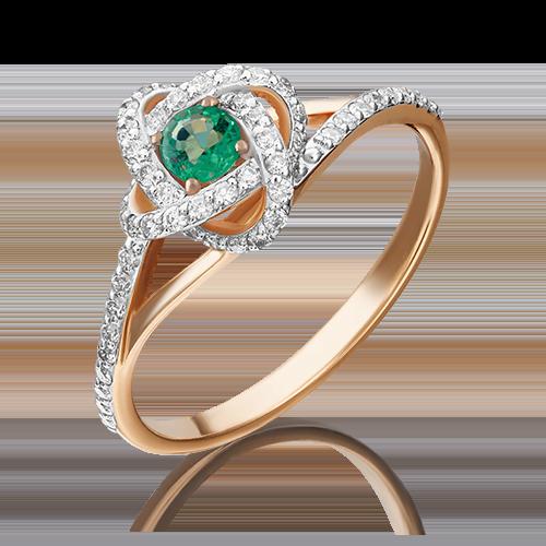 Кольцо из красного золота 01-1437-00-106-1110-30