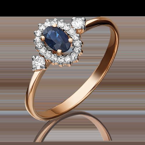 Кольцо из красного золота 01-1447-00-105-1110-30