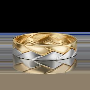 Обручальное кольцо из лимонного золота 01-5416-00-000-1121-39