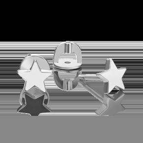 Серьги-пусеты из серебра 02-4610-00-000-0200-71