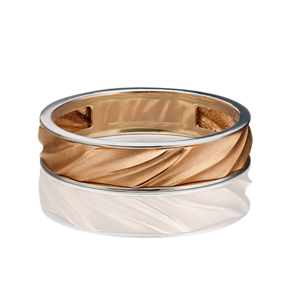 Обручальное кольцо из комбинированного золота 01-5448-00-000-1111-39