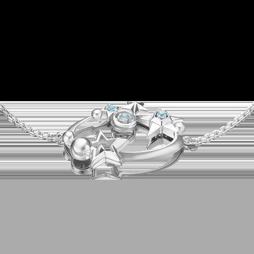 Браслет из серебра с топазом 05-0661-00-201-0200-68
