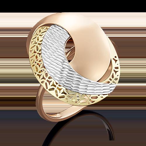 Кольцо из комбинированного золота 01-4935-00-000-1140-48