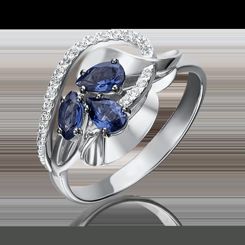 Кольцо из белого золота 01-5221-00-105-1120-30