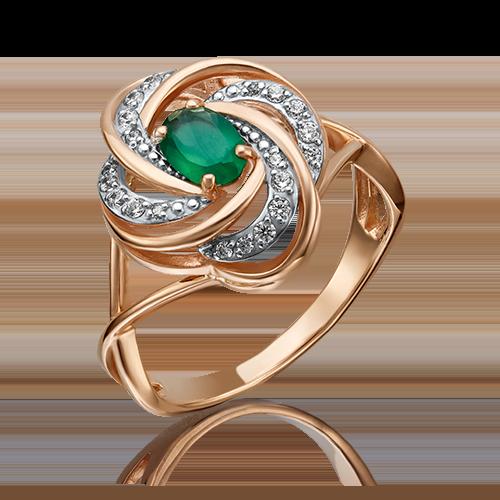 Кольцо из красного золота 01-4633-00-275-1110-47