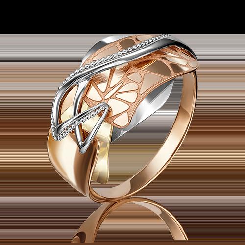 Кольцо из комбинированного золота 01-5099-00-000-1140-48