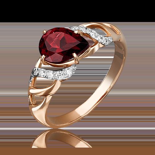 Кольцо из красного золота 01-4137-00-210-1110-46