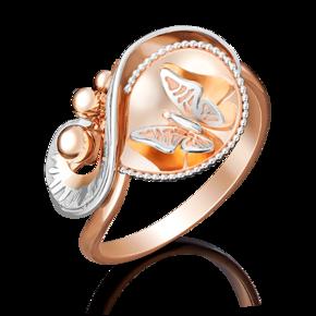 Кольцо из красного золота 01-5056-00-000-1110-48