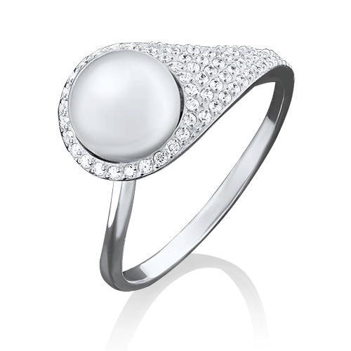 Кольцо из белого золота 01-3650-00-302-1120-33