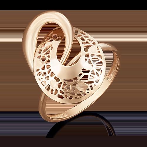 Кольцо из красного золота 01-4939-00-000-1110-48