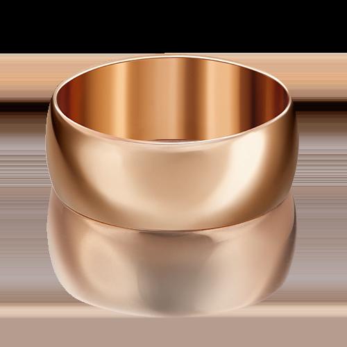 Обручальное кольцо из красного золота 01-4450-00-000-1110-11