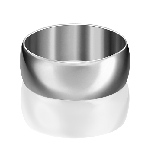 Обручальное кольцо из белого золота 01-4450-00-000-1120-11