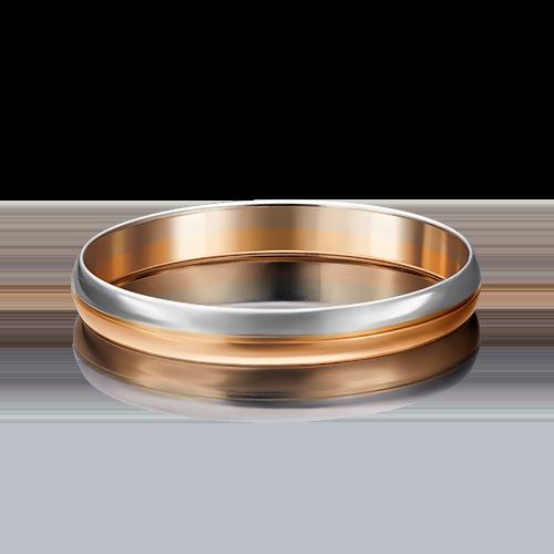 Обручальное кольцо из комбинированного золота 01-4039-00-000-1111-39