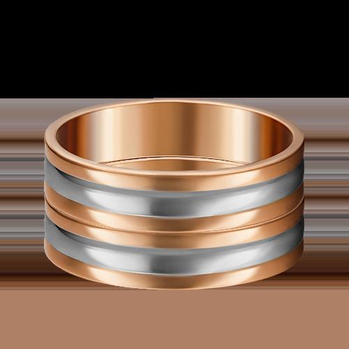 Обручальное кольцо из комбинированного золота 01-4040-00-000-1111-39
