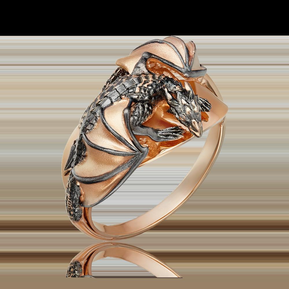Кольцо из красного золота 01-5277-00-000-1110-65