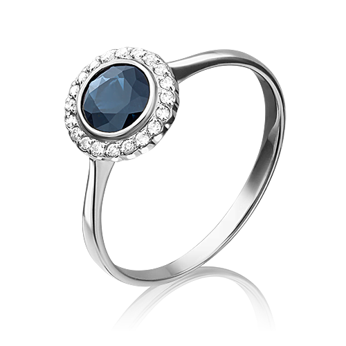 Кольцо из белого золота 01-1284-00-105-1120-30