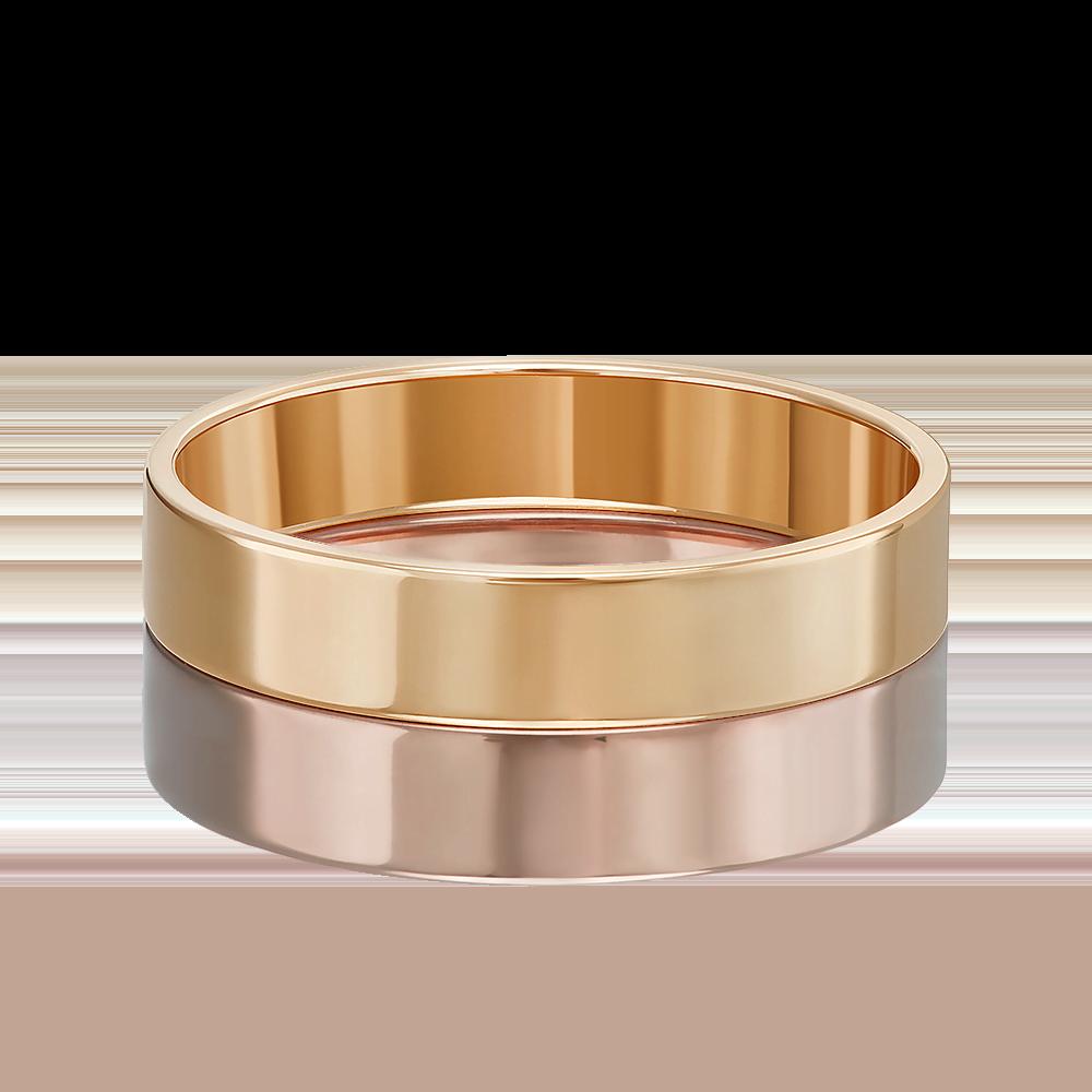 Обручальное кольцо из красного золота 01-3460-00-000-1110-11
