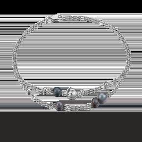 Браслет из серебра с жемчугом культивированным 05-0602-00-301-0200-69