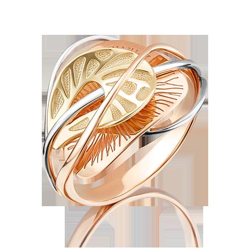 Кольцо из комбинированного золота 01-5088-00-000-1113-48