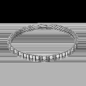 Браслет из белого золота с бриллиантом 05-0579-00-101-1120-30
