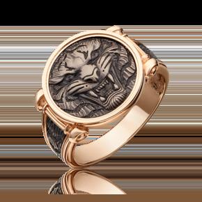 Печатка из комбинированного золота 01-5301-00-000-1111-42