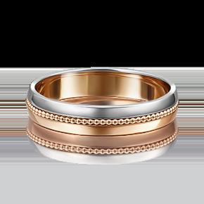 Обручальное кольцо из комбинированного золота 01-5012-00-000-1111-39