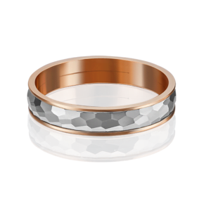 Обручальное кольцо из комбинированного золота 01-5267-00-000-1111-39