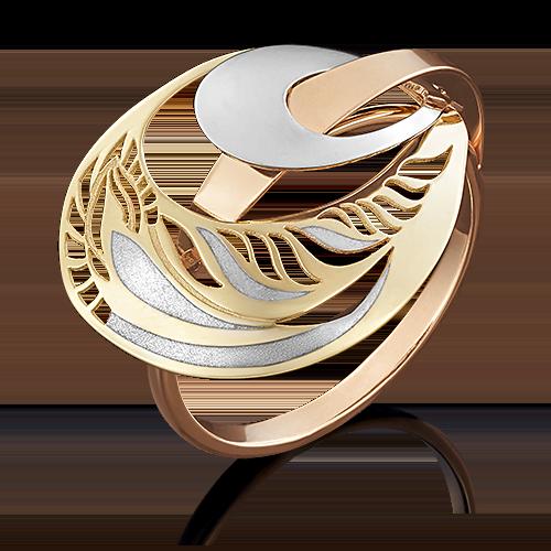 Кольцо из комбинированного золота 01-4953-00-000-1140-48