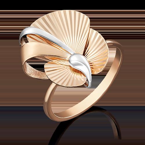 Кольцо из красного золота 01-4954-00-000-1110-48