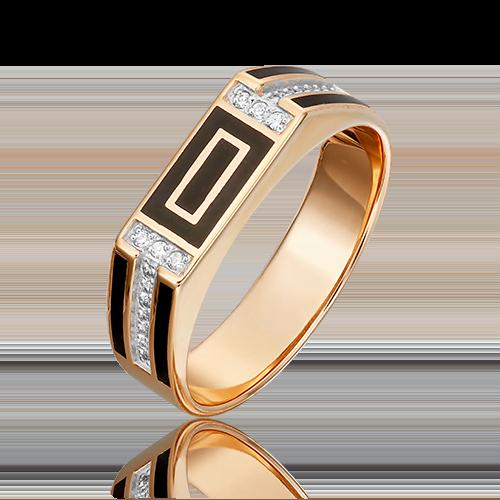 Печатка из красного золота 01-4133-00-401-1110-25