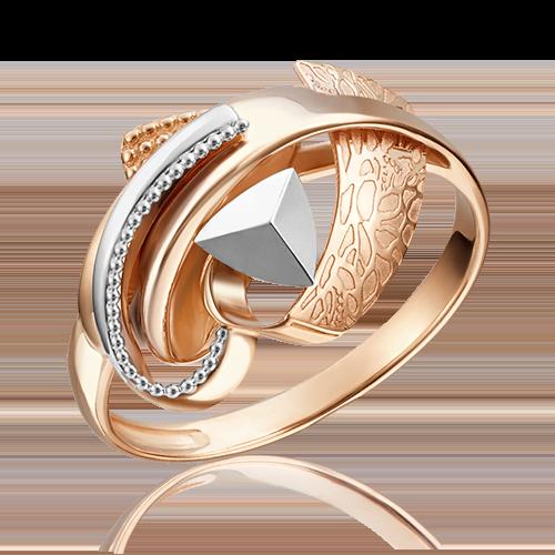 Кольцо из комбинированного золота 01-5153-00-000-1111-48