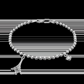Браслет из серебра с фианитом 05-0610-00-401-0200-69