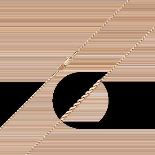 Цепь из красного золота 21-0137-060-1110-17