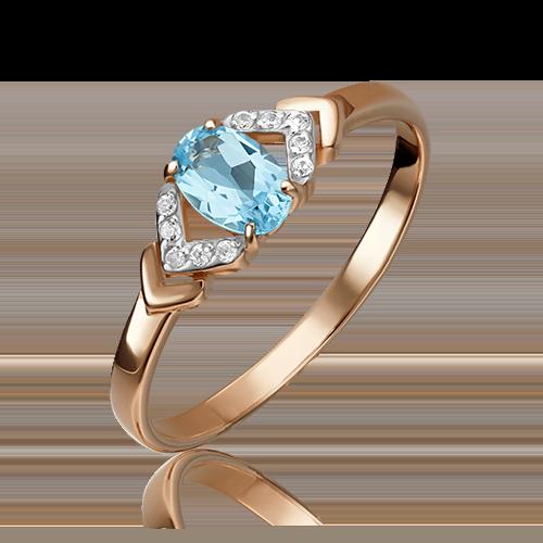 Кольцо из красного золота 01-1291-00-284-1110-46