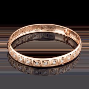 Браслет жесткий из красного золота 05-0566-00-000-1110-48
