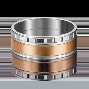 Обручальное кольцо из комбинированного золота 01-4995-00-000-1111-39
