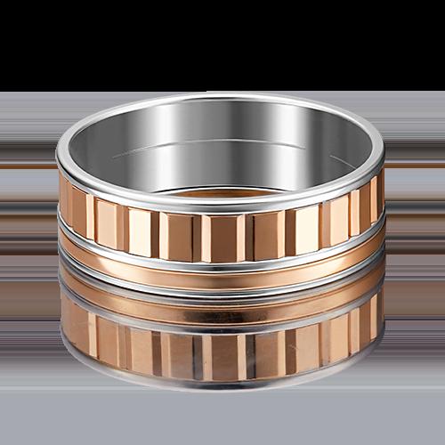 Обручальное кольцо из комбинированного золота 01-4996-00-000-1111-39
